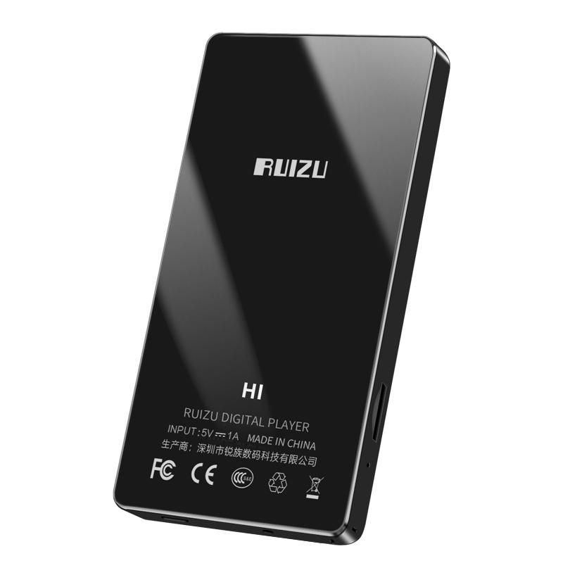 Máy Nghe Nhạc Lossless MP3 MP4 Bluetooth Màn Hình Cảm Ứng 4 inch Ruizu H1 Tặng Kèm Thẻ Nhớ 8GB Cao Cấp AZONE - Hàng Chính Hãng