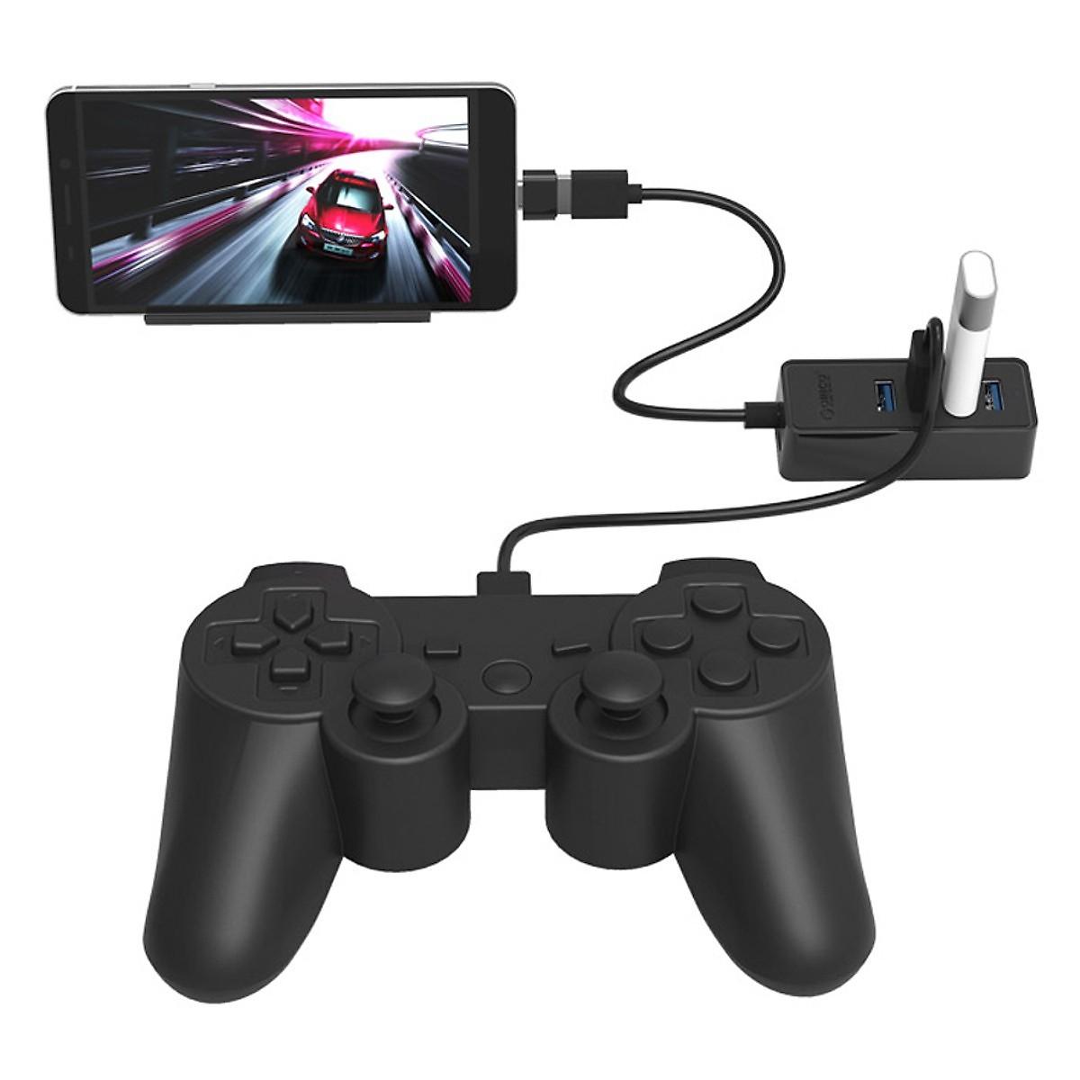 Bộ chia USB 4 PORT Orico W5P-U3-30 Đen - Hàng Chính Hãng