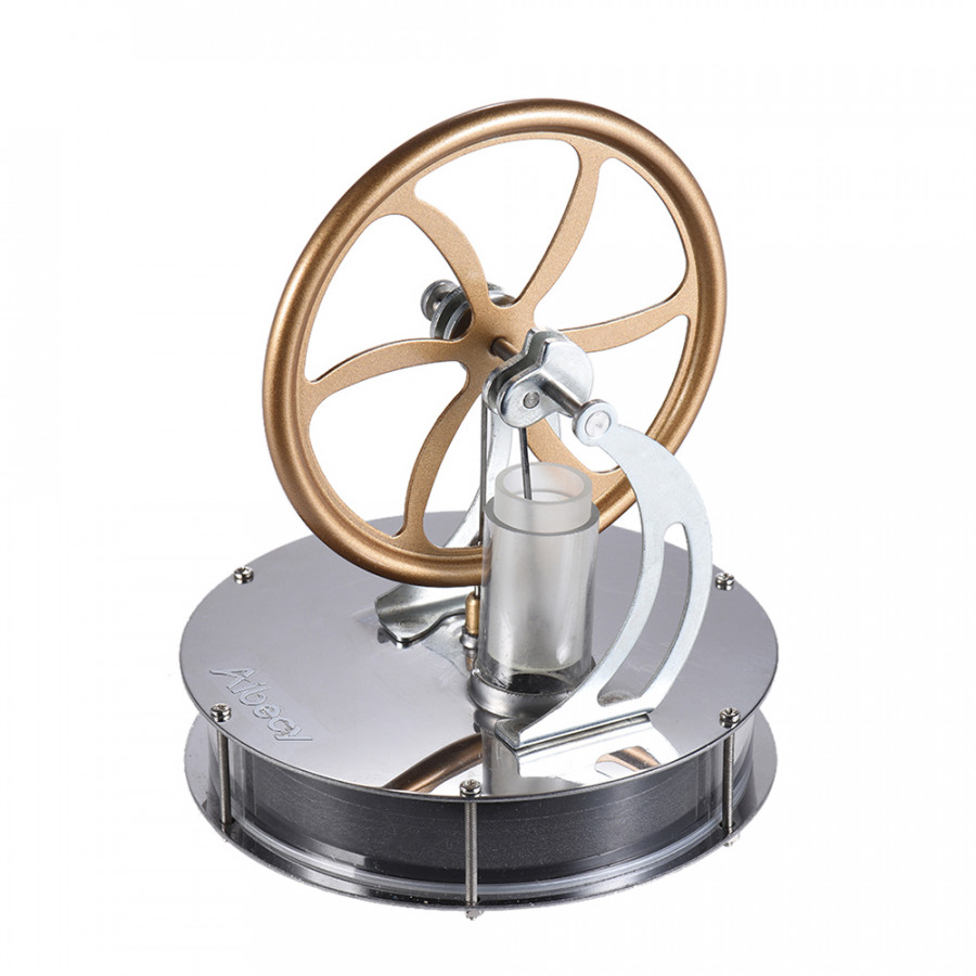 Aibecy Low Temperature Stirling Engine Motor Model Heat Steam Education Toy DIY Kit - Gold - 23416894 , 5207573411157 , 62_15455102 , 804000 , Aibecy-Low-Temperature-Stirling-Engine-Motor-Model-Heat-Steam-Education-Toy-DIY-Kit-Gold-62_15455102 , tiki.vn , Aibecy Low Temperature Stirling Engine Motor Model Heat Steam Education Toy DIY Kit - G