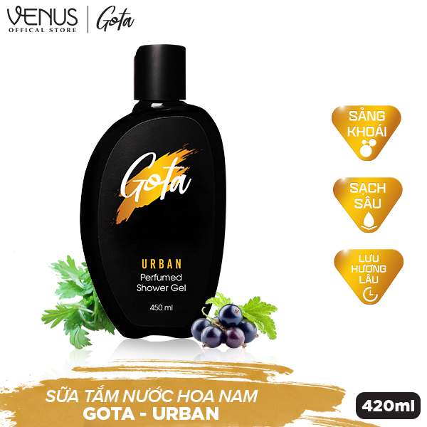 Sữa tắm nước hoa nam GOTA Urban - 890821