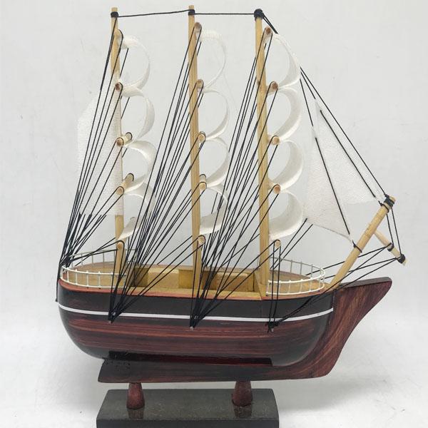 Mô Hình Thuyền France II 20cm gỗ tràm-TB70
