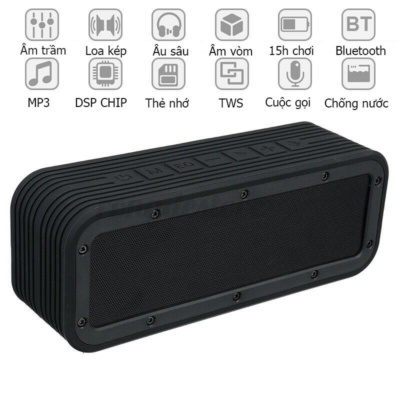 Loa Nghe Nhạc Bluetooth PKCB-Hàng Chính Hãng