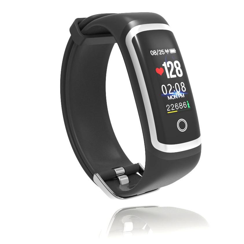 Vòng đeo tay thông minh cao cấp M4, màn hình rộng, giao diện đẹp, chống nước | Hàng nhập khẩu