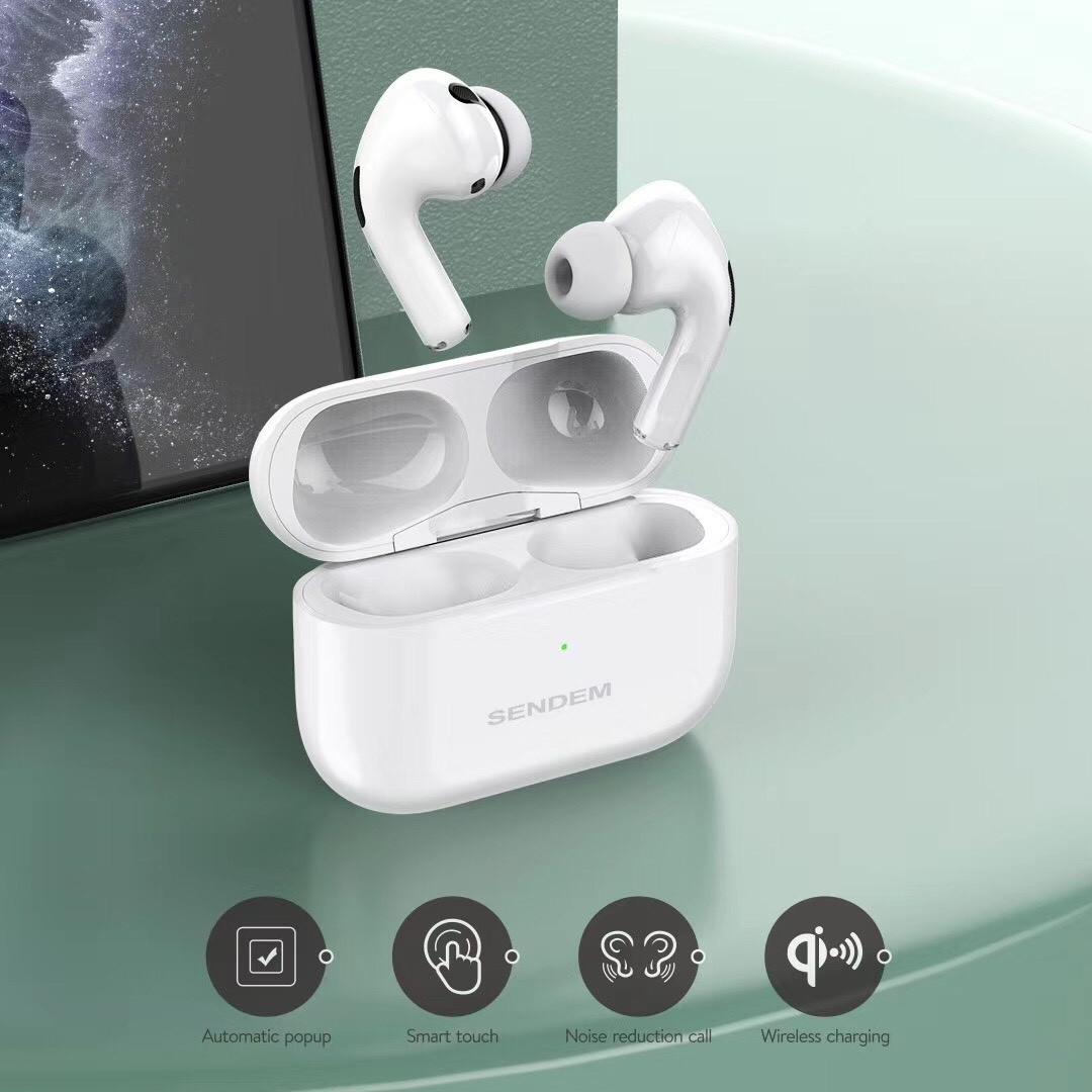 Tai Nghe Bluetooth SENDEM TWS PRO - Thiết Kế Sang Trọng - Đẳng Cấp - HÀng Chính Hãng