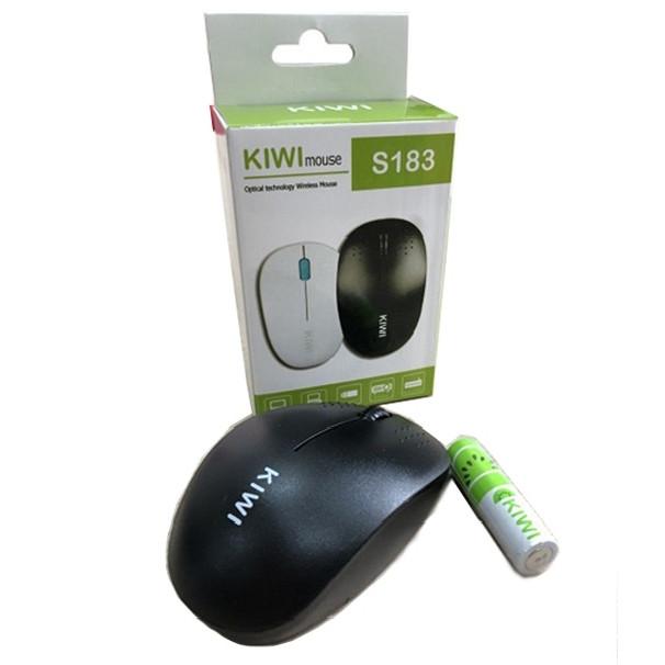 Chuột Wireless Kiwi S183 Chính Hãng - Tặng Pin