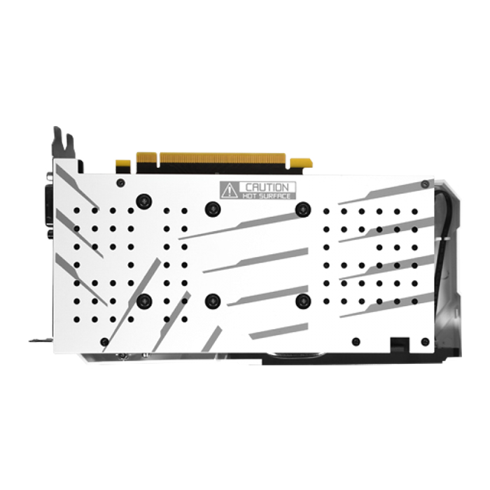 Card Màn Hình VGA Galax GeForce RTX 2060 EX 1 Click OC WHITE 6GB GDDR6 26NRL7HPY3EW 192bit 2 Fan DP HDMI DVI D - Hàng Chính Hãng
