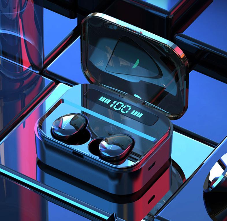 Tai nghe Bluetooth 5.0 Serial X7 - Cảm ứng chạm, có Dock sạc, chất lượng cao