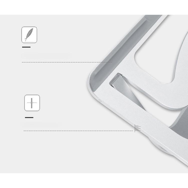 Đế Nhôm cao cấp JRC-S2 Macbook Laptop 11inch - 17inch