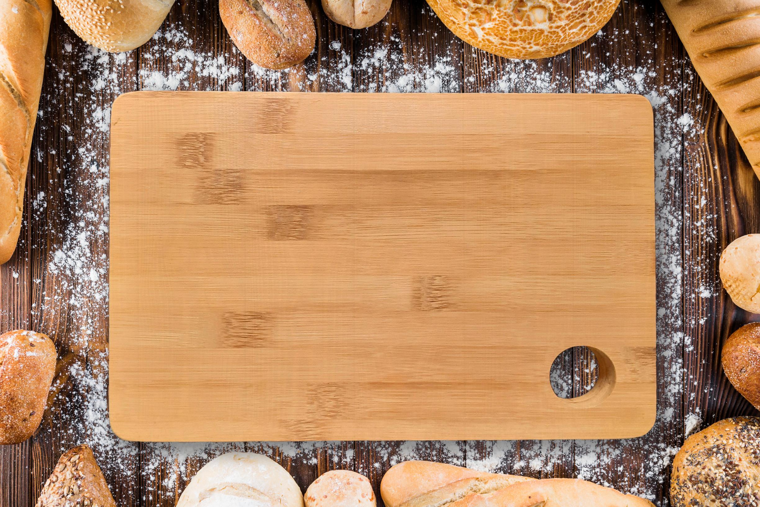 Thớt gỗ tre tự nhiên - Oaak 26x19x2 cm - Sản xuất tại Việt Nam