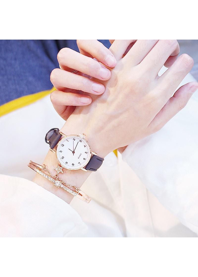 Đồng hồ thời trang nữ mặt số dây da nhung thời trang sành điệu cực đẹp ZO30