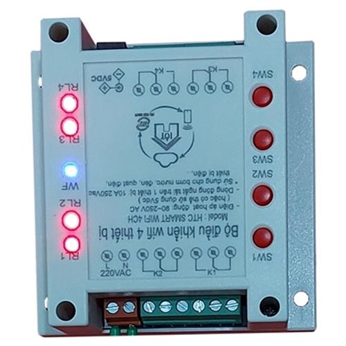 BỘ ĐIỀU KHIỂN WIFI 4 THIẾT BỊ HES SMART WIFI 4CH Smart life APP - Thiết bị điều khiển thông minh Thương hiệu OEM | SieuThiChoLon.com