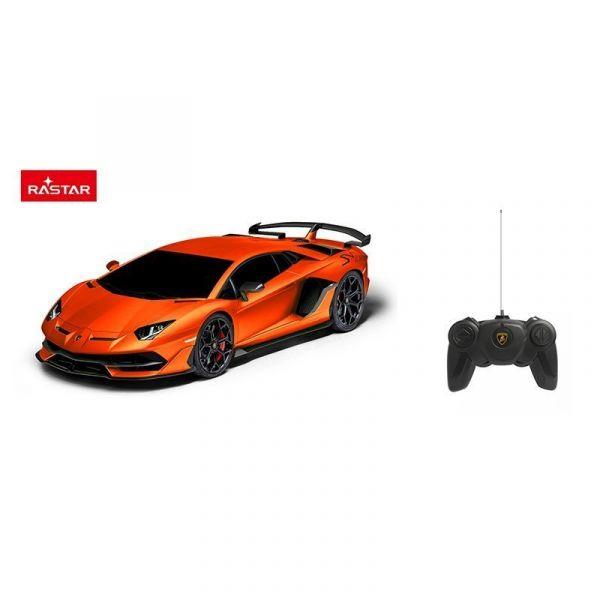 Đồ chơi điều khiển RASTAR Xe điều khiển 1:24 Lamborghini Aventador SVJ_màu Cam R96100/ORA