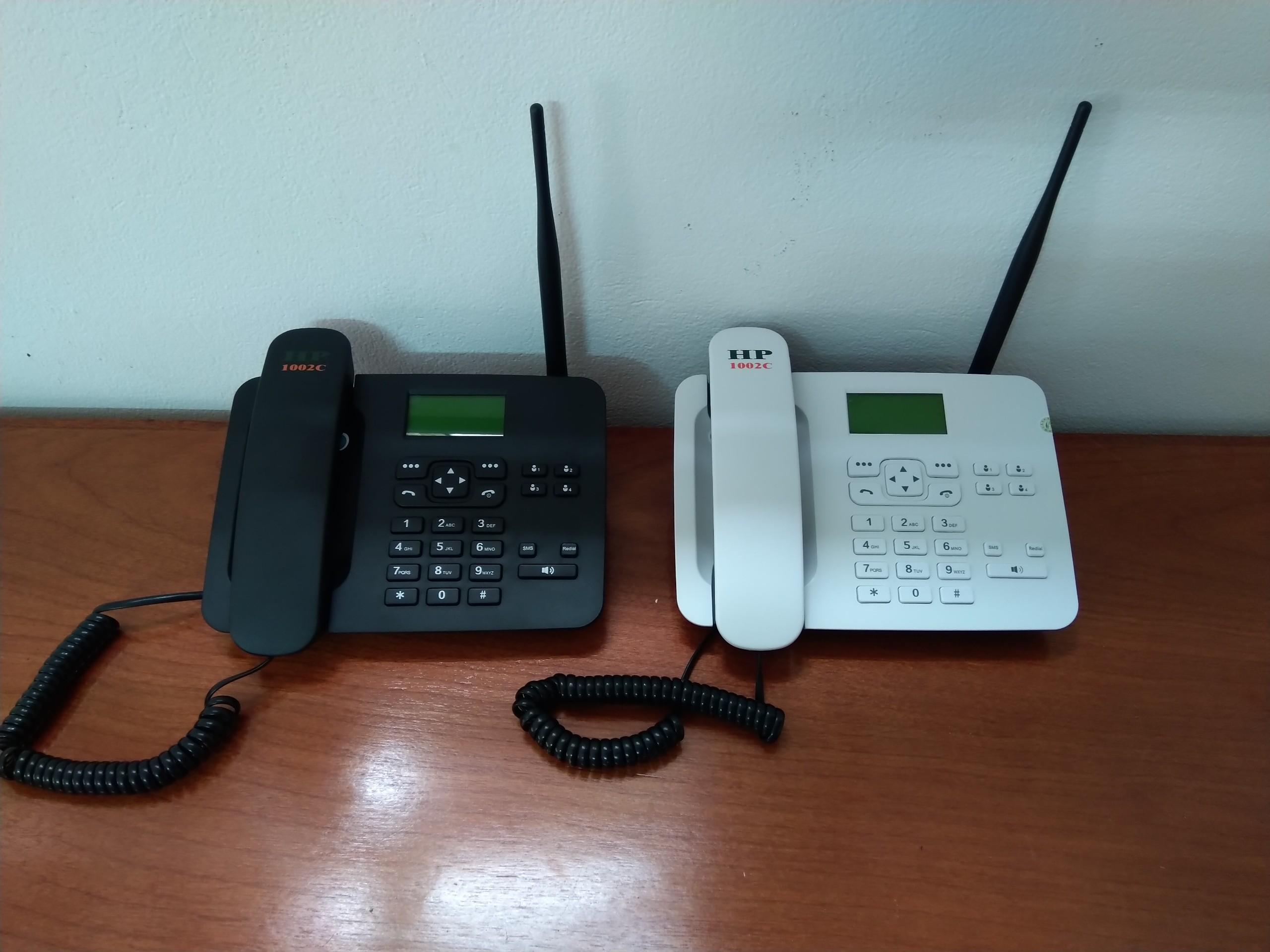 Điện thoại bàn cố định không dây lắp các loại sim cố định, di động Viettel, Mobi, Vina...