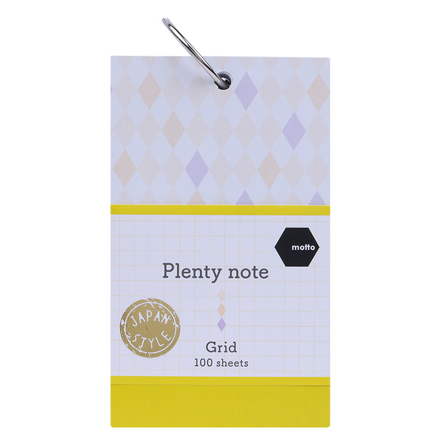 Giấy Note Motto Plenty CYPN75-GR