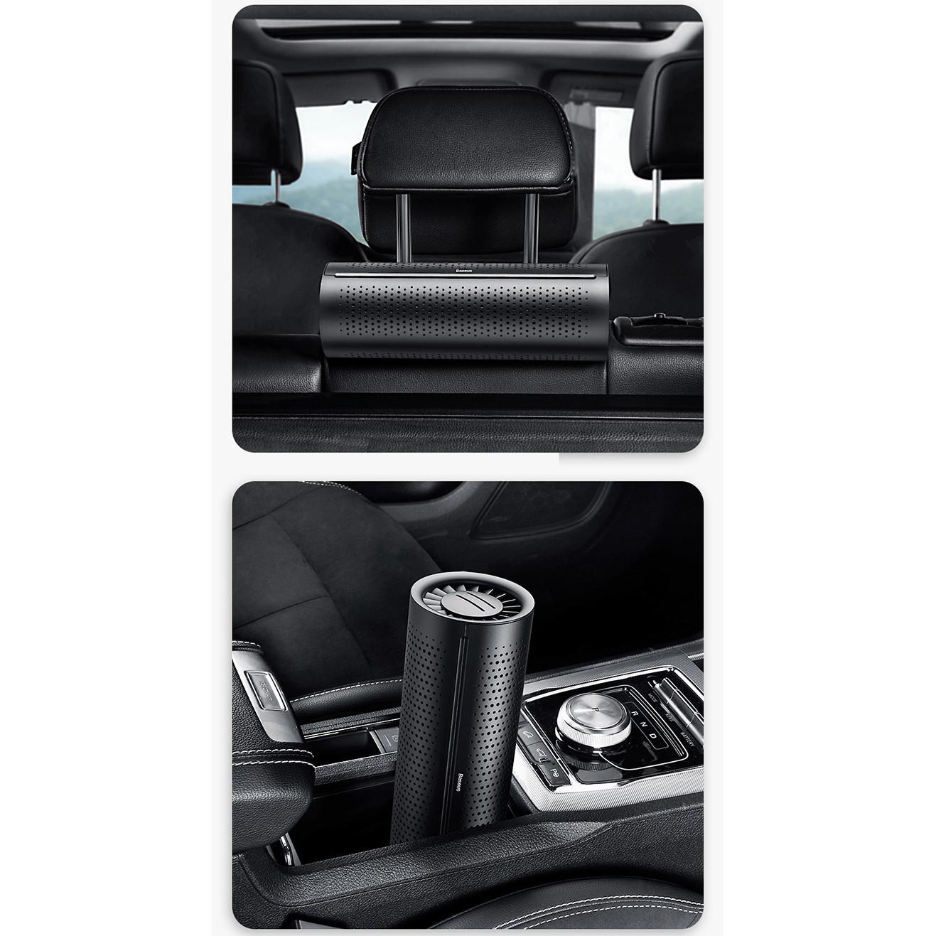 Bộ lọc không khí than hoạt tính trên xe hơi Baseus- Hàng chính hãng