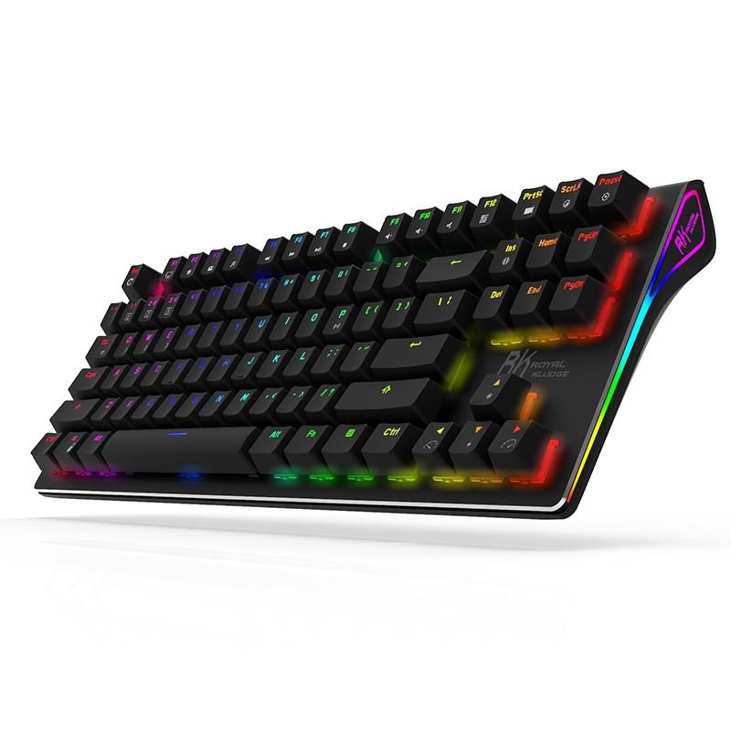 Bàn phím cơ Gaming không dây Royal Kludge RKG87 RGB CHÍNH HÃNG- Red switch