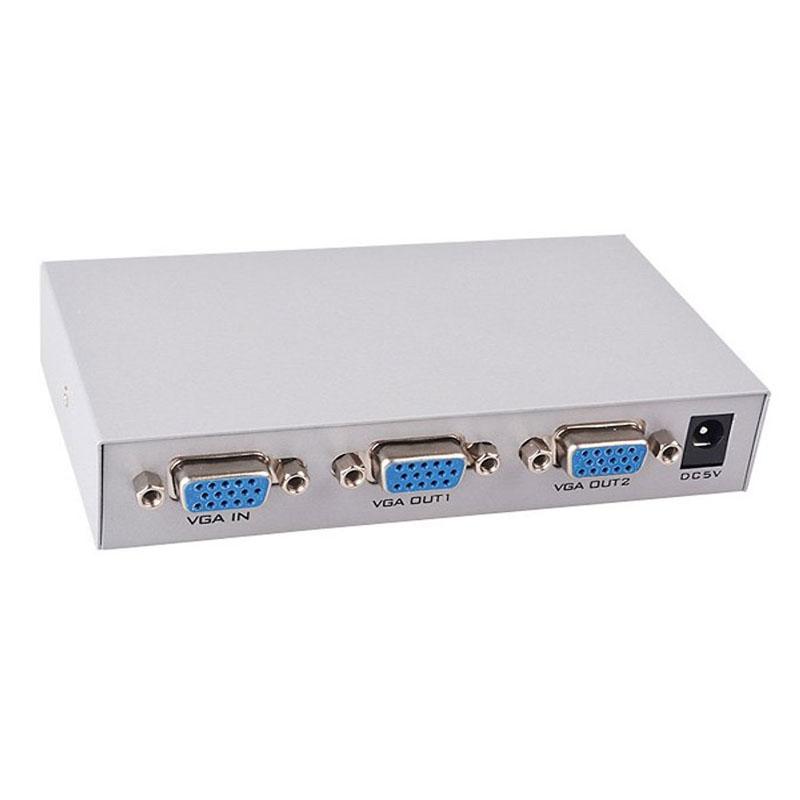 Bộ Chia 1 Máy Tính Ra 2 Màn Hình- Bộ Chia VGA 1 Ra 2