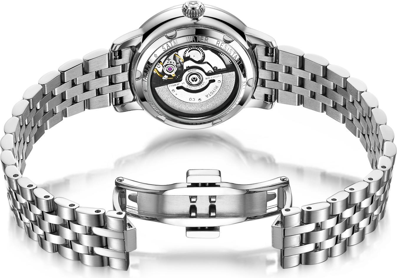 Đồng hồ nữ máy cơ tự động Thụy Sĩ TOPHILL TA032L.S1138