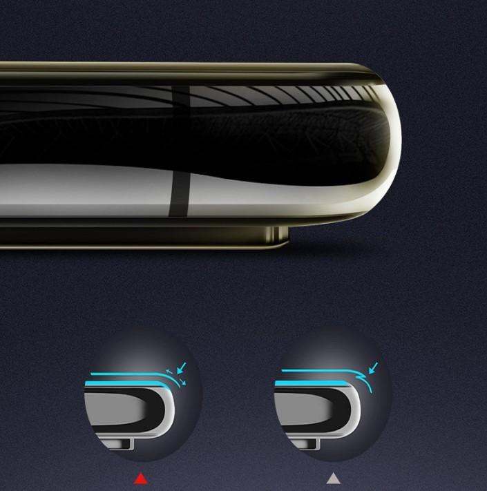 Kính Cường lực 9D Dành Cho SAMSUNG A7 2018 Full Keo Màn Hình - Màu Đen