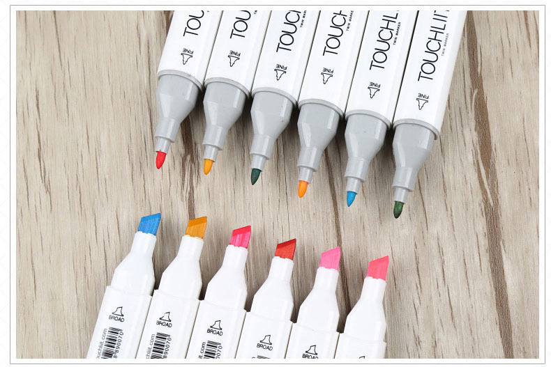 Bộ bút màu Touchliit 6 - 80 màu
