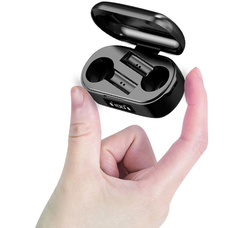 Tai Nghe Bluetooth Không Dây Mini True Wireless TWS Dùng Cho Tất Cả Các Dòng Điện Thoại Hàng Chính Hãng