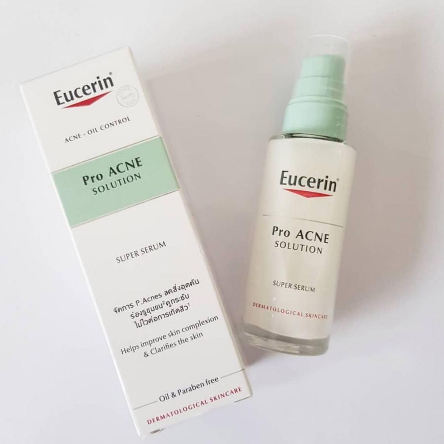 Tinh Chất Tái Tạo Da Mụn Eucerin Pro ACNE Solution Super Serum (30 ml)