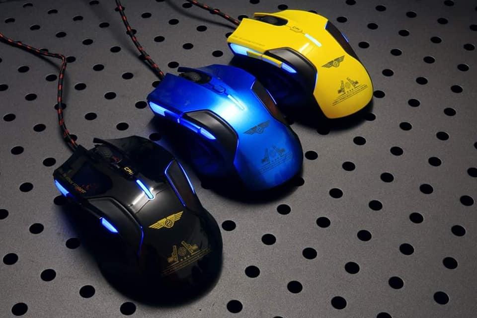 Chuột máy tính chuyên phòng Game Newmen G7Plus_Hàng chính hãng