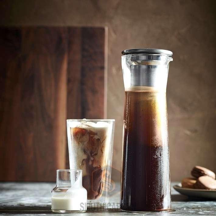 BÌNH PHA CÀ PHÊ LẠNH HARIO STAINLESS STEEL COLD BREW COFFEE [CBS-10HSV] -8 LY
