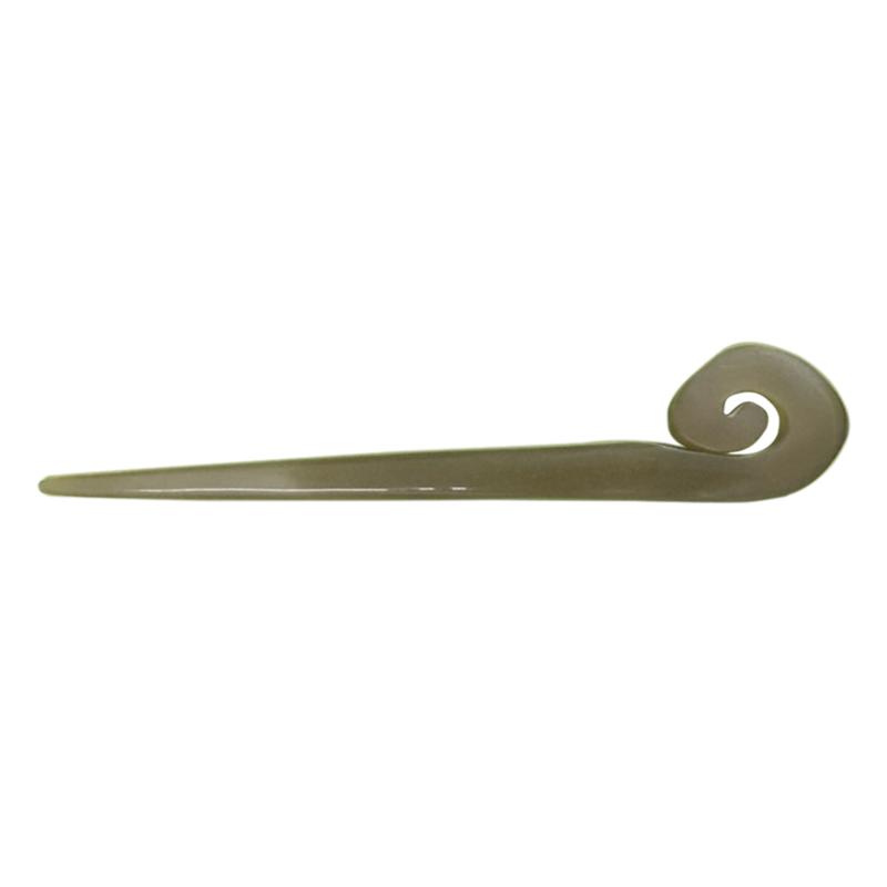 Trâm Sừng Cài Tóc Cổ Trang TS25 Mầm Cây Dương Xỉ (Dài 15 x 2,5cm)