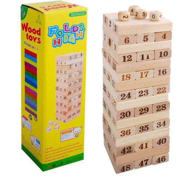 Đồ chơi rút gỗ số loại lớn nhất - 53001