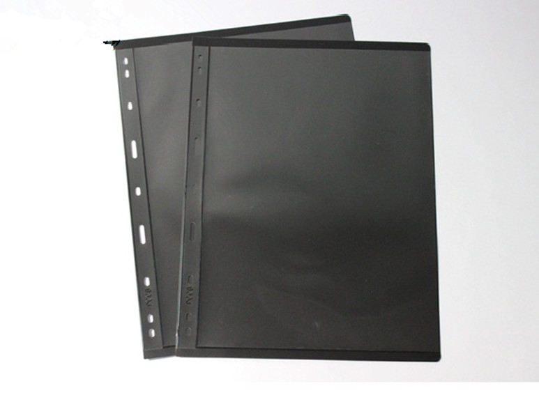 Combo 5 Phơi Nhựa Đựng Tem Tiền  Hiệu PCCB Có 1 Ngăn Đen Bền Chắc CB5PTT1NS