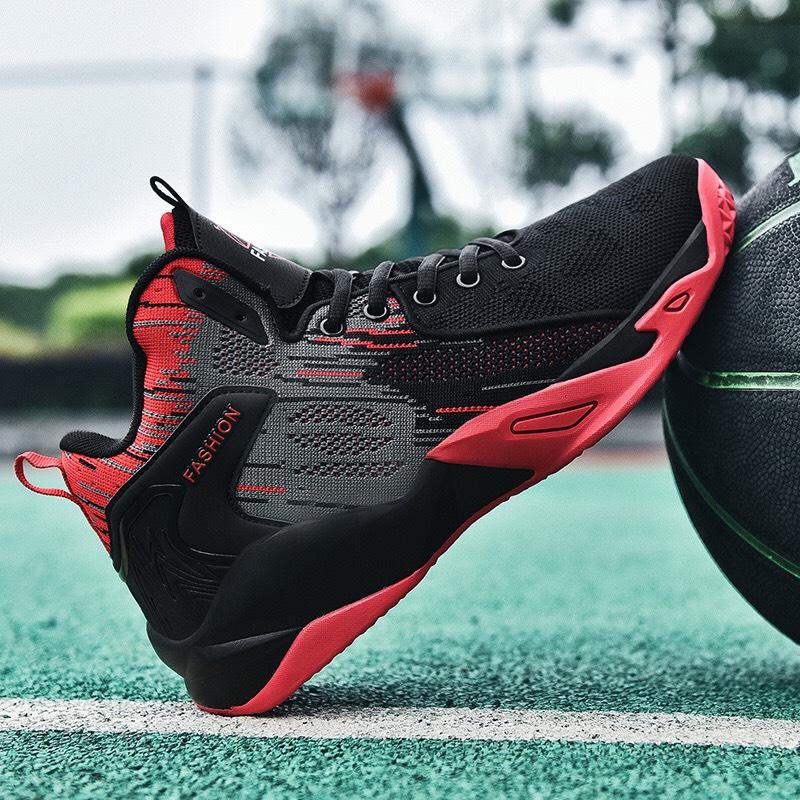 Giày bóng rổ trẻ em, giày bóng rổ học sinh nam cao cấp SST-A027D