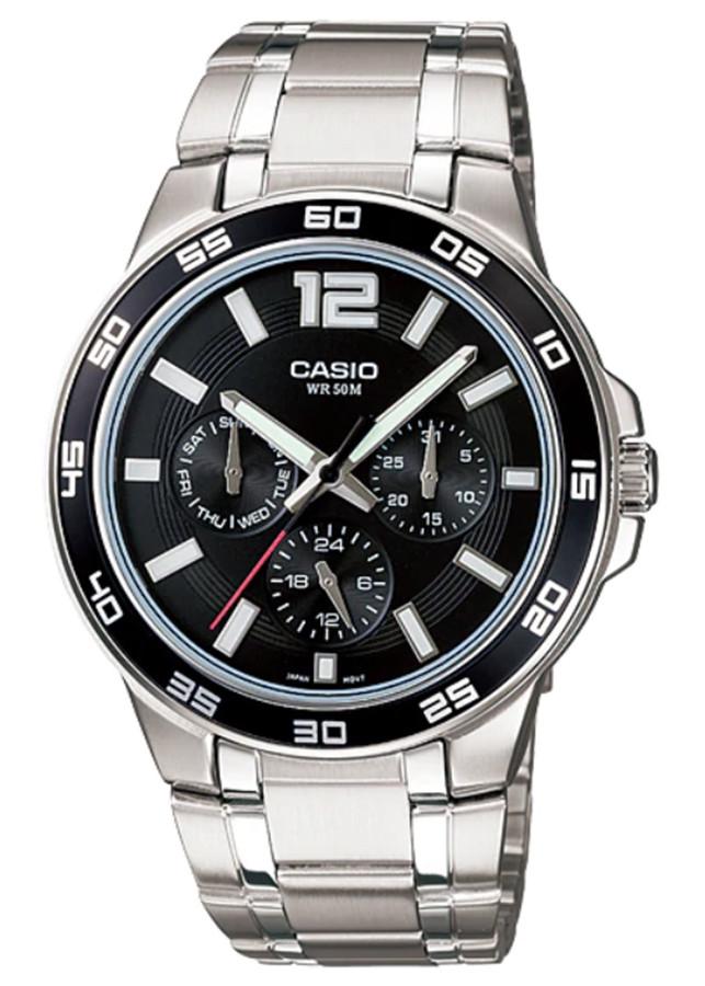 Đồng hồ nam dây kim loại Casio MTP-1300D-1AVDF
