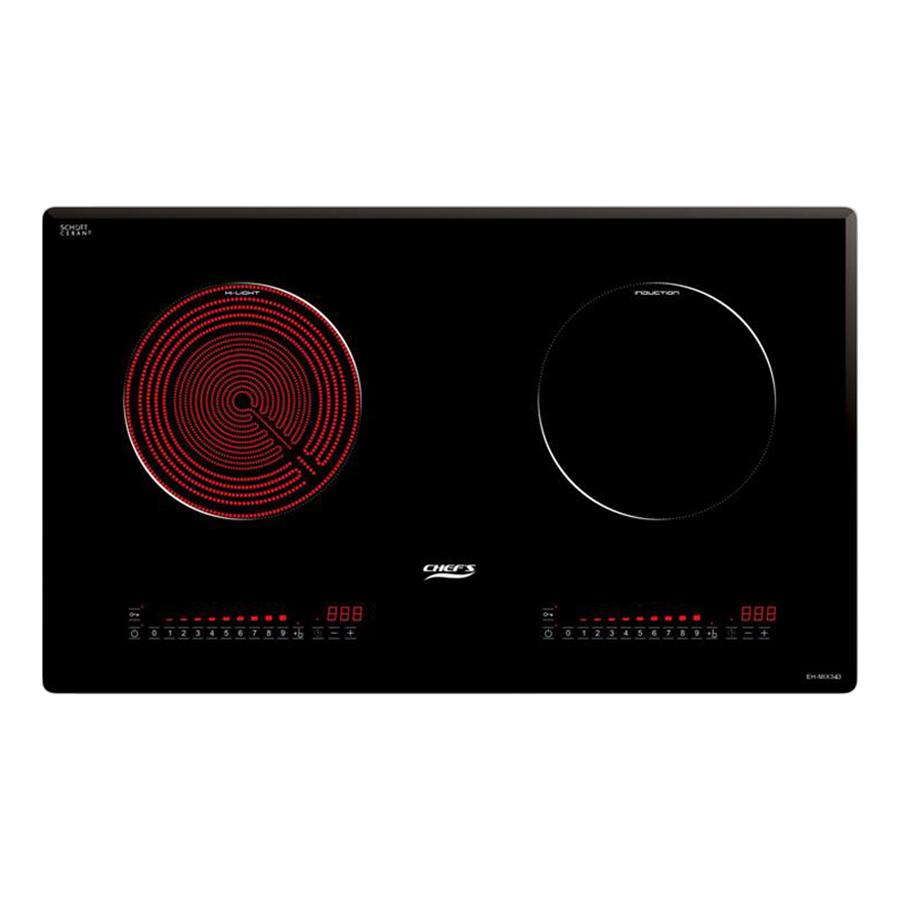 Bếp Âm Từ - Hồng Ngoại Chef's EH-MIX343 (75cm - 5200W) - Hàng Chính Hãng