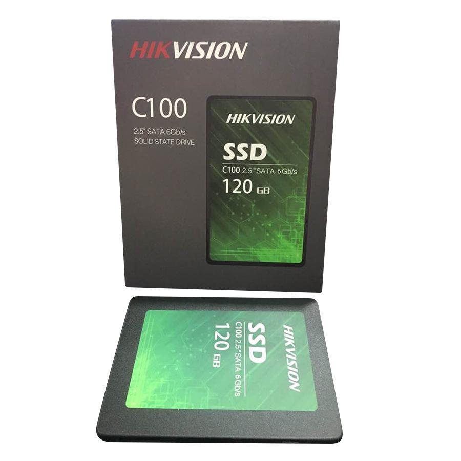 Ổ Cứng SSD HIKVISION C100 120GB Sata III - Hàng Chính Hãng