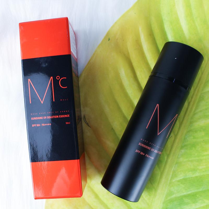 Kem chống nắng dành cho nam MdoC Sunshine UV Solution Essence SPF 50+ PA++++ 50ml