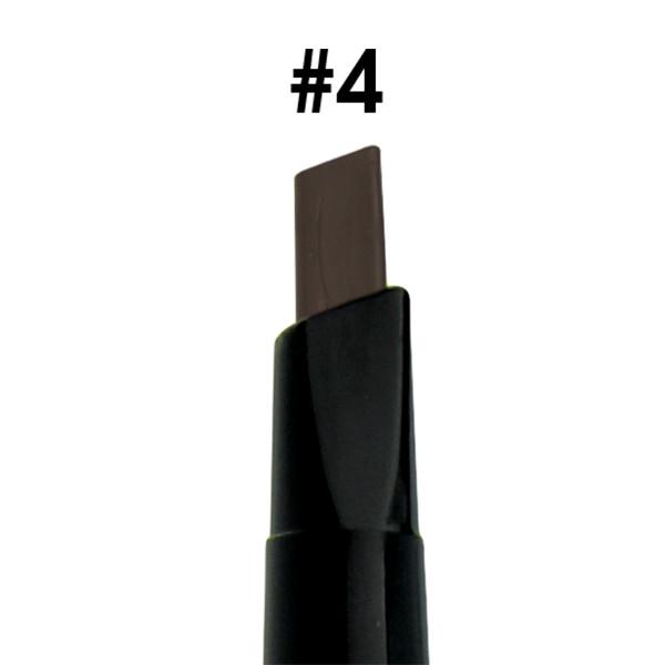 Chì mày định hình Mira Aroma Square Eyebrow Pencil No.4 tặng kèm móc khoá