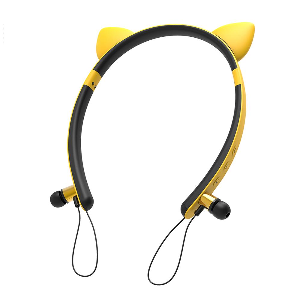 Tai nghe không dây tai mèo, tai thỏ BLUTOOTH 5.0 TAI THỎ ZW-29A
