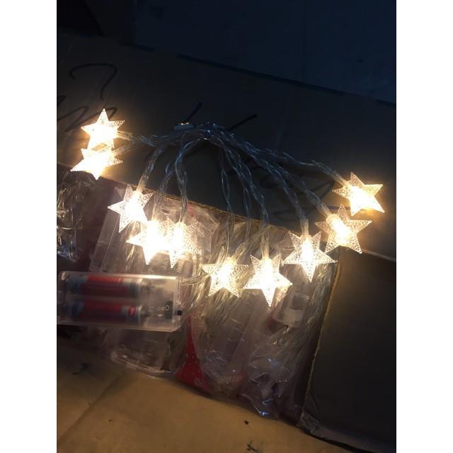 Dây đèn led trang trí 40 ngôi sao dài 6 mét