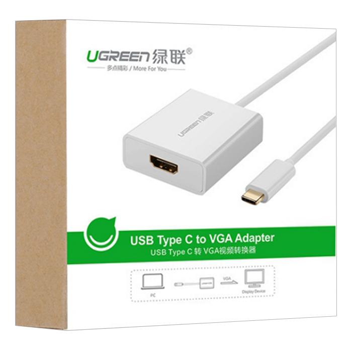 Cáp USB-C To HDMI UG-40273 Ugreen (40273) - Hàng Chính Hãng