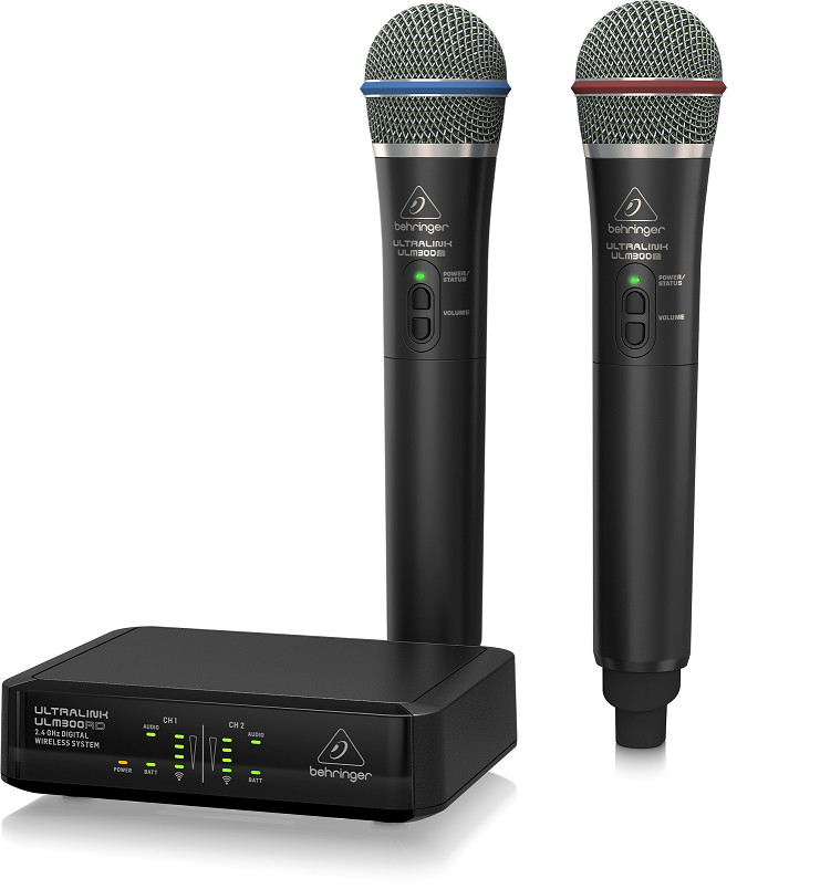 Microphone không dây Behringer ULM302MIC-Wireless Microphones-Hàng Chính Hãng