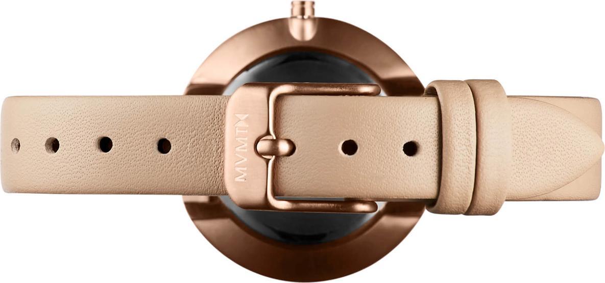 Đồng hồ Nữ MVMT dây da D-FB01-RGNU