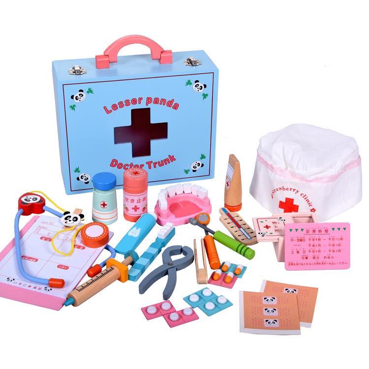 Bộ đồ chơi bác sĩ khám răng cho bé