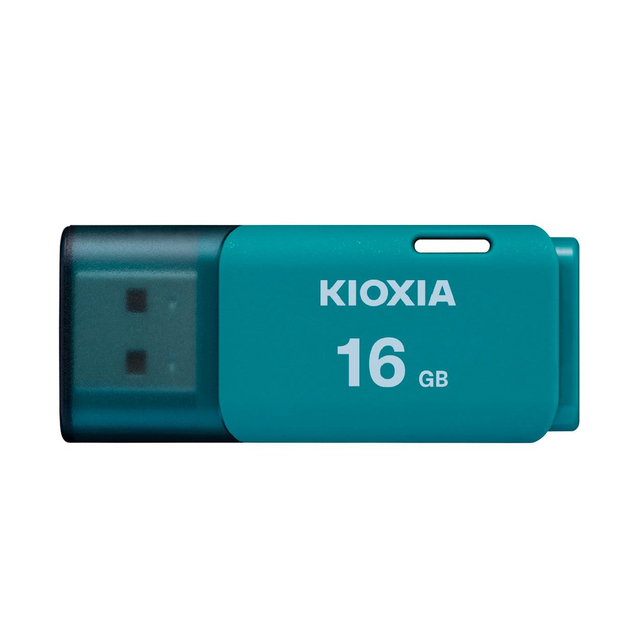Ổ cứng di động 16GB U202 USB 2.0 Kioxia - Xanh nhạt - Hàng chính hãng