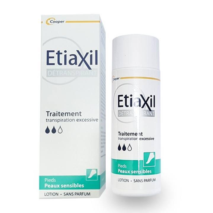 Lăn Khử Mùi Etiaxil Détranspirant Traitement Aisselles Peaux Sensibles 100ml ( Lotion Etiaxil đặc trị hôi chân)