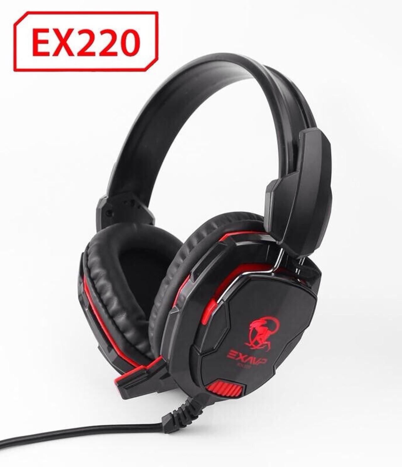 Tai Nghe Cao Cấp Gaming EX220 LED Full Box