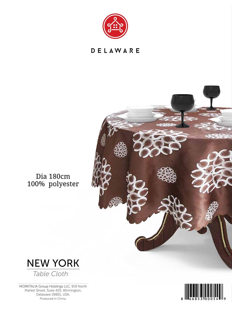 Khăn trải bàn Delaware 180cm 3000549