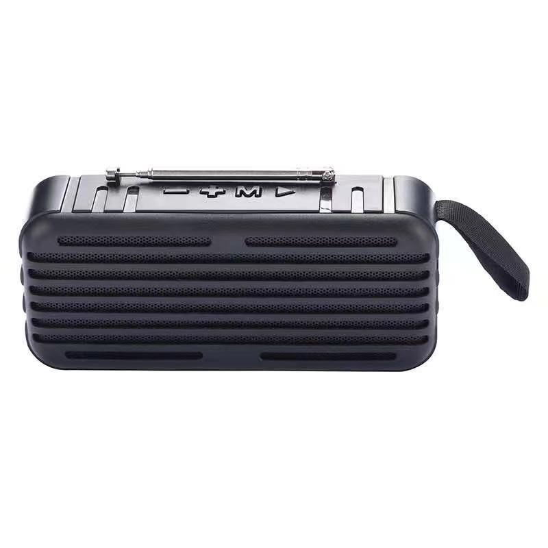 Loa bluetooth không dây Lanith D6 cao cấp – Tặng dây cáp sạc 3 đầu – Loa không dây D6 âm thanh chuẩn chất lượng, màu sắc sang trọng kèm dây đeo phong cách - Hàng nhập khẩu – L0000D6.CAP0001