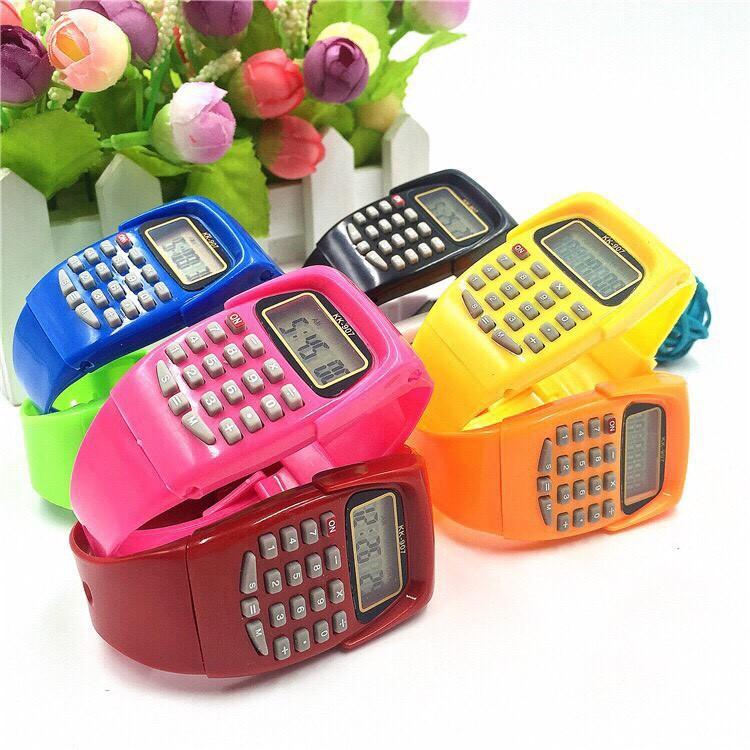 Đồng hồ điện tử nam nữ Sports KK - 907 có chức năng xem giờ và máy tính MS978