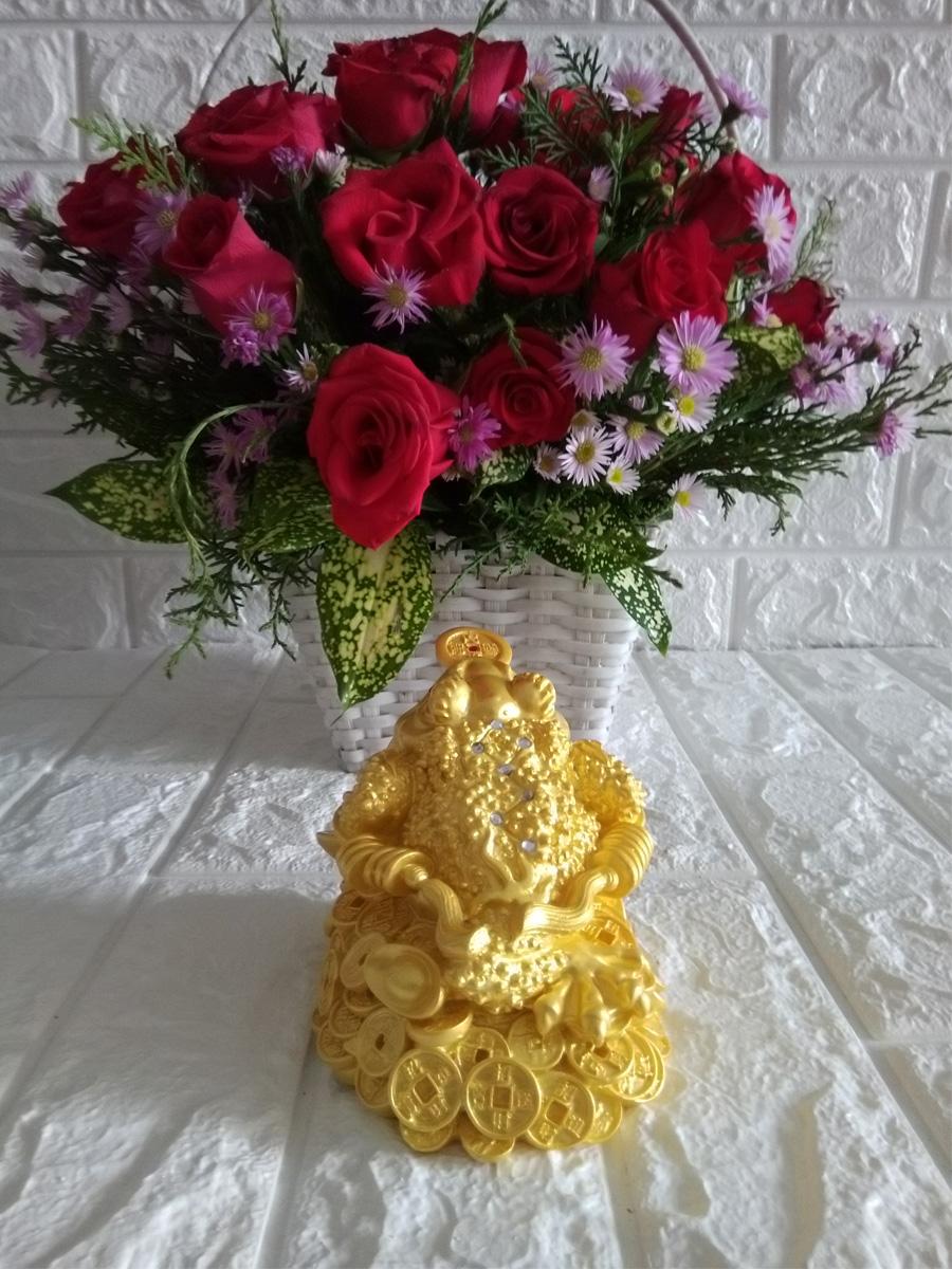 Thiềm thừ ngậm tiền vàng chiêu giữ tài lộc CVND14
